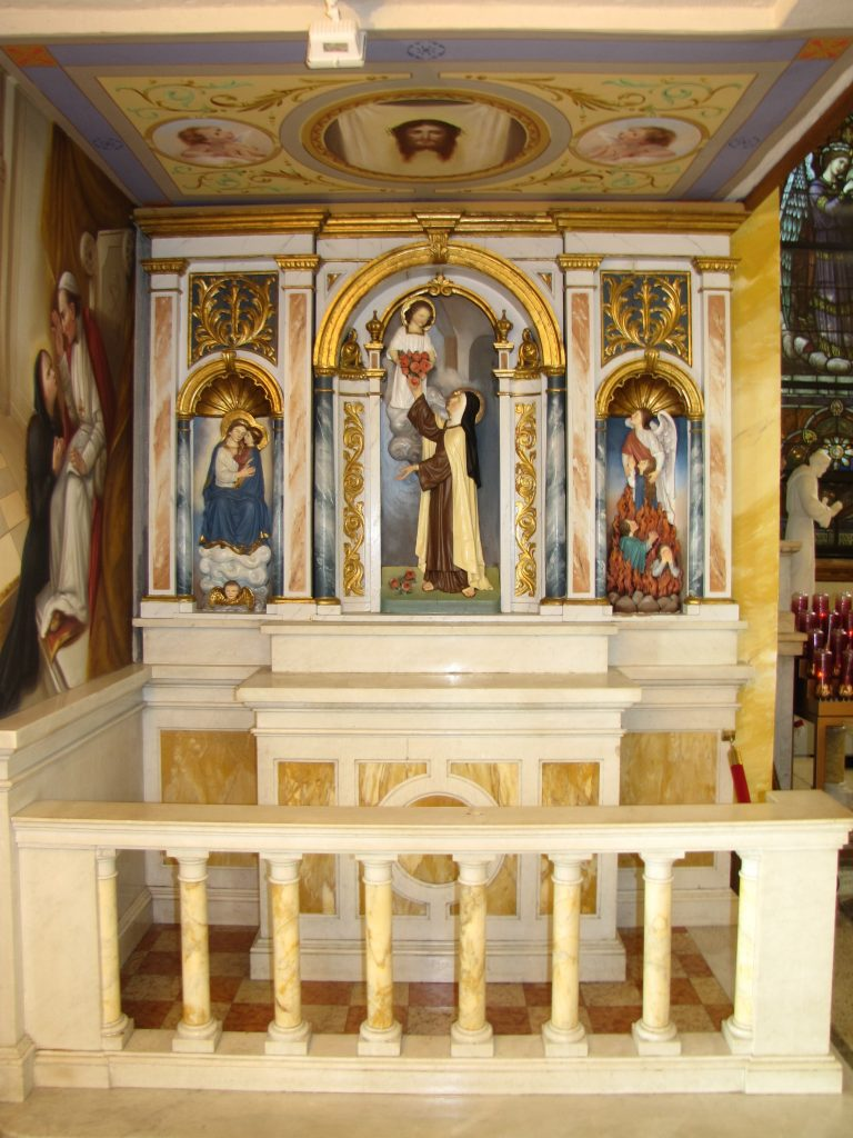 The St. Therese Altar at St. Michael Church